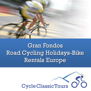 Classic Cycle Tours - Gran Fondos, Road Cycling Holidays, European Bike Rentals