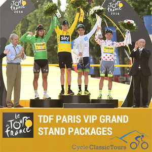 2017 Tour de France VIP Grandstand Packages - Get the chance to watch final stage of the Tour de France in Paris!