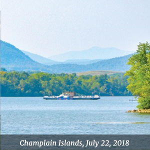 Vermont's Champlain Islands, July 21-22, 2018 - Snow Farm Winery, South Hero, VT