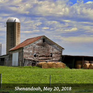 Shenandoah, May 19-20, 2018 - Belle Grove Plantation, Middletown, VA
