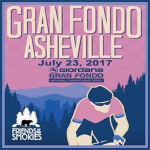 Giordana GFNCS Gran Fondo Asheville, North Carolina, July 23rd 2017, 4 Timed Sections, 3 Distances - Register NOW!