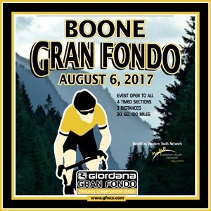 Giordana GFNCS Boone Gran Fondo, North Carolina, August 6th 2017, 4 Timed Sections, 3 Distances - Register NOW!