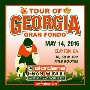 Giordana GFNCS Tour of Georgia Gran Fondo, North Georgia's Appalachian Mountains, May 14th - Register NOW!