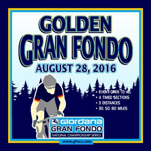 Giordana GFNCS Golden Gran Fondo, Colorado, August 28th, 4 Timed Sections, 3 Distances - Register NOW!