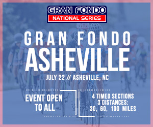 2018 Gran Fondo Asheville, June 22nd 2018