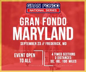 2018 Gran Fondo Maryland, September 23rd 2018