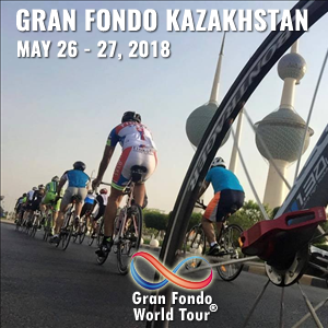Gran Fondo Kazakhstan, May 19 - 20, 2018 - Enter now to win $10,000 USD!
