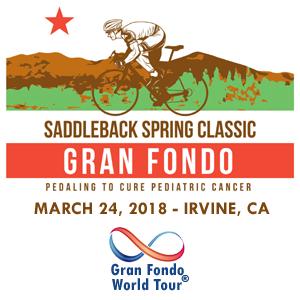 Saddleback Spring Classic Gran Fondo, Irvine, California, March 24, 2018 - Enter now to win $10,000 USD!