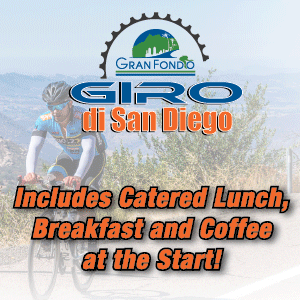 Giro di San Diego Gran Fondo, September 11th 2016 - Register Now!