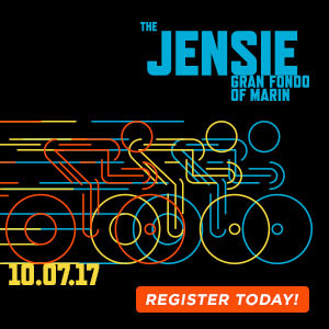 The Jensie Gran Fondo of Marin County, CA, October 7th. Shut Up Legs! Register Now.