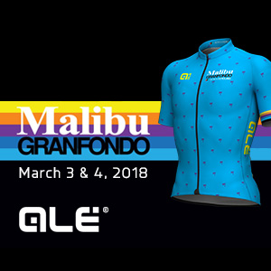 Kick-start your Season at the Malibu GRANFONDO, March 3 - 4, 2018, America's 5-Star Gran Fondo