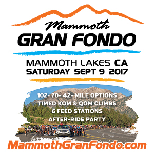 Mammoth Gran Fondo, September 9th, Mammoth Lakes, CA - Register Now!