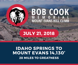 Bob Cook Memorial Mount Evans Hill Climb, July 21, 2018