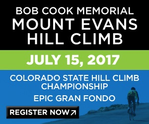 The Mt. Evans Hill climb is an iconic bicycle race that takes place on Mount Evans, Colorado. July 15th 2017, Register Now!