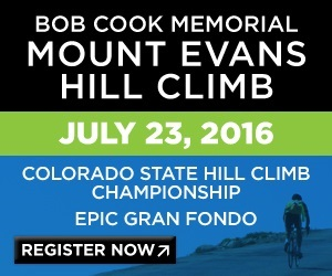 The 51st Bob Cook Memorial Mt. Evans Hill Climb and Gran Fondo, July 23rd, CO - The Highest Paved Road in the U.S. - Register Now!