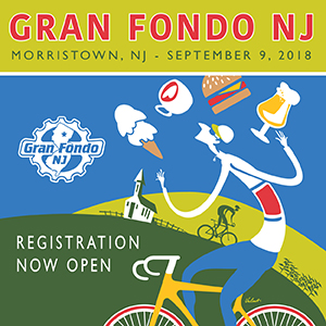 Gran Fondo NJ – Top 3 U.S. Gran Fondo for three years in a row! September 9th, Register NOW and SAVE!