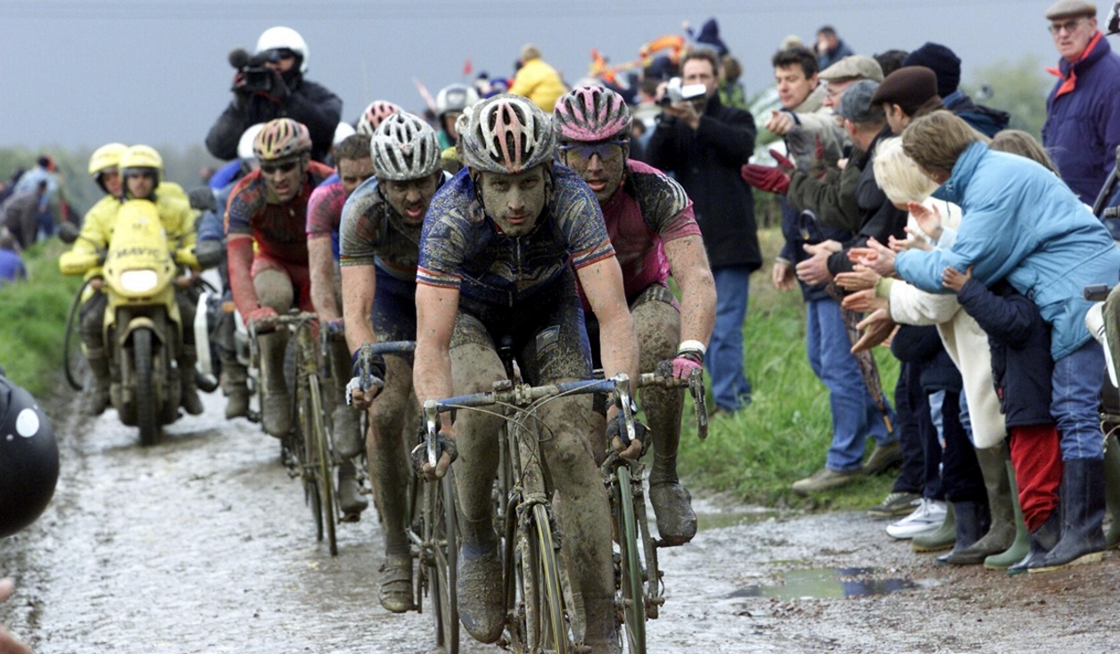 The North American Spring Classics - George Hincapie Leads the Pack at the Paris-Roubaix in 2002
