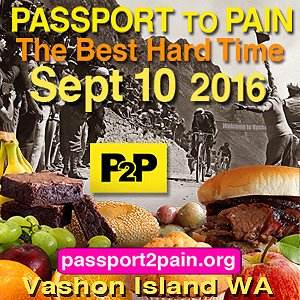 Passport to Pain - Half the Ram and all of the Rod! Vashon Island, Washington, September 10, 2016 - Register NOW!