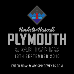 Gran Fondo Plymouth, 18th September 2016. 70 and 100 miles around Devon and Cornwall. ENTER NOW!