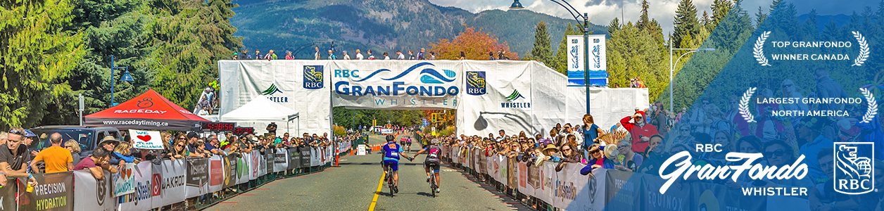 RBC Gran Fondo Whistler, Vancover, British Columbia, September 9th. Canada's Number #1 Gran Fondo. Register Now.
