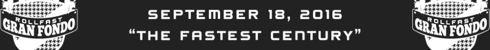 Rollfast Gran Fondo, Sep 18th, Carmel, Indiana - The Fastest US Gran Fondo!