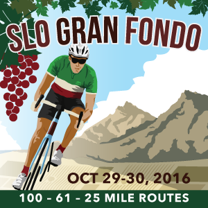 SLO Gran Fondo - Avila Beach, California - Oct 29/30 2016 - Registration is Now Open!