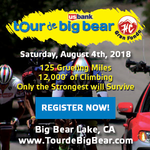Tour de Big Bear HC Gran Fondo - August 4th 2018