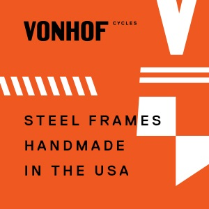 Performance steel and aluminum frames handmade in America
