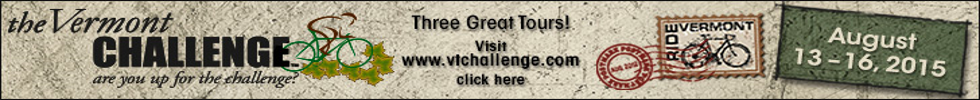 Vermont Challenge, 12-16th August 2015, Vermont's Mountain Top Finish Gran Fondo!