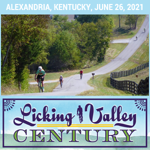 Licking Valley Century - Alexandria, KY - June 26th - REGISTER NOW!