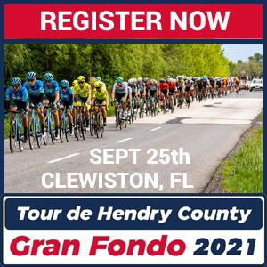 Tour de Hendry Gran Fondo - Clewiston, FL - Sept 25th - REGISTER NOW!